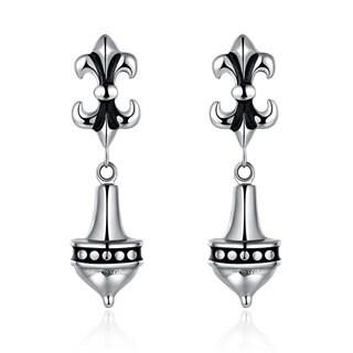 Hakbaho Jewelry Stainless Steel Chandelier Drop Earrings