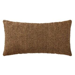 Oceanfront Resort Indienne Paisley Raffia Bolster Pillow