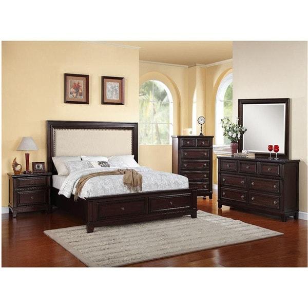 Queen Bedroom Suite: Shop Cambridge Willow Storage 5 Piece Bedroom Suite: Queen