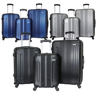 World Traveler Monterey Hardside 3-Piece Expandable Spinner Upright Luggage Set