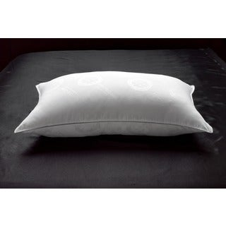 MicronOne Deluxe Allergen Free Gel Fiber Filled Soft Pillow - White