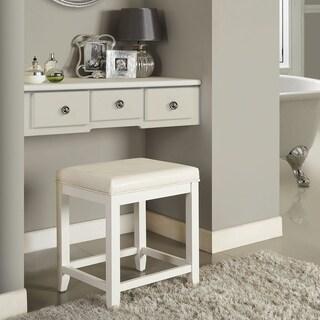 Vista Vanity Stool- White