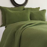 Manchester Fern Cotton Quilt 3-piece Set