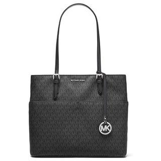 Michael Kors Bedford Large Black Pocket Tote Bag