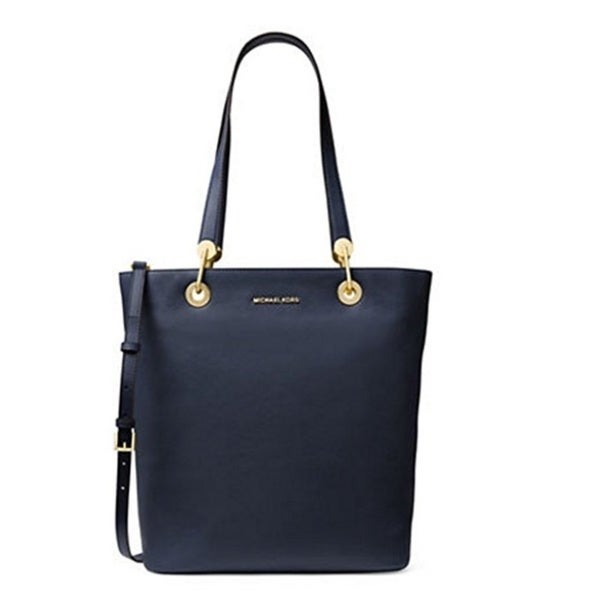 723034f81170 Shop Michael Kors Raven Large North/South Admiral Blue Tote Bag - Free  Shipping Today - Overstock - 16004155