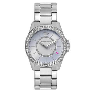 Juicy Couture Women's 'Laguna' Stainless Steel Light Blue Dial Japanese Quartz Watch