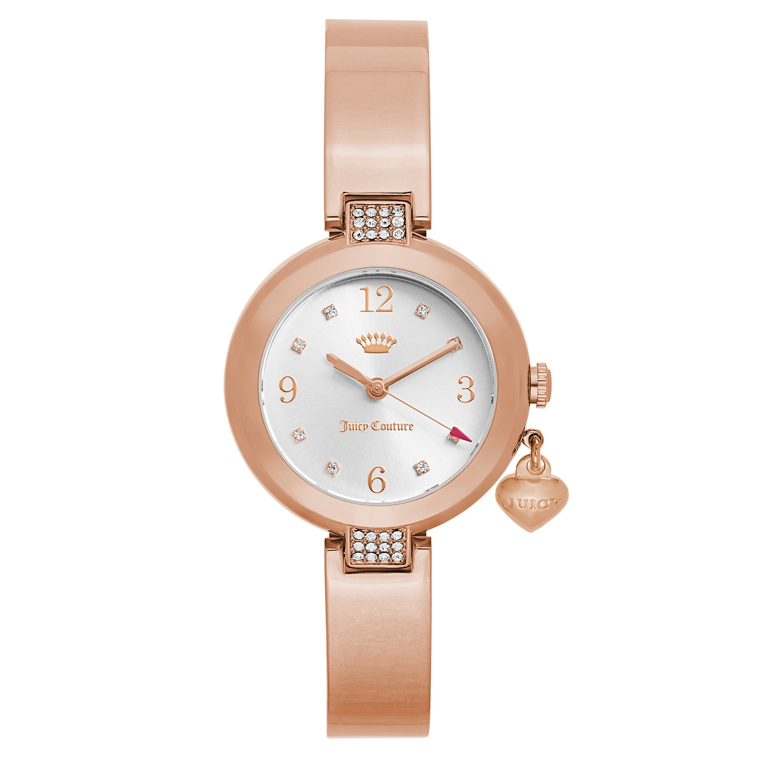 Juicy Couture Women's 'Sienna' Gold Plated Silver Dial Ja...