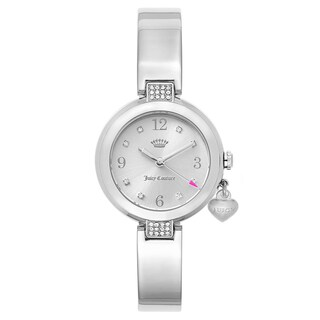 Juicy Couture Women's 'Sienna' Stainless Steel Silver Dial Japanese Quartz Watch
