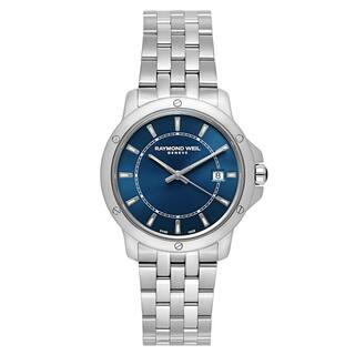 Raymond Weil Men's 'Tango' Stainless Steel Blue Dial Swiss Quartz Watch https://ak1.ostkcdn.com/images/products/16004297/P22397549.jpg?impolicy=medium