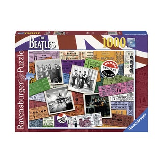 The Beatles Tickets: 1000 Pcs - Multi