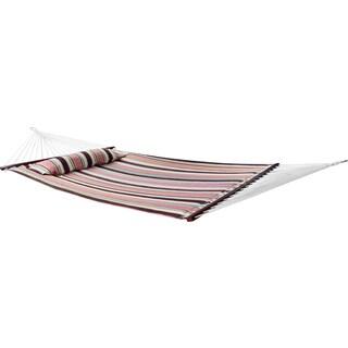 Sorbus® Hammock Bed Top, Includes Detachable Pillow and Spreader Bar, 2 Person, 450 Pound Capacity (Top, Mocha)