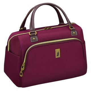 London Fog Coventry 17-inch Carry On Cabin Tote Bag (Option: Purple)