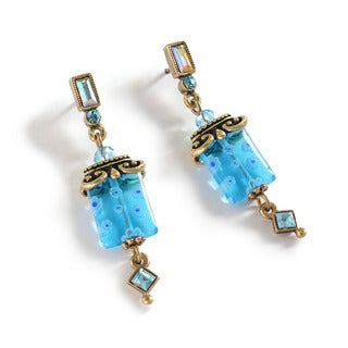 Sweet Romance Millefiori Glass Square Deco Earrings|https://ak1.ostkcdn.com/images/products/16004505/P22397699.jpg?_ostk_perf_=percv&impolicy=medium