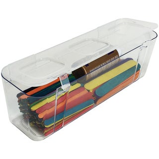 Large Caddy Organizer Compartment-Clear