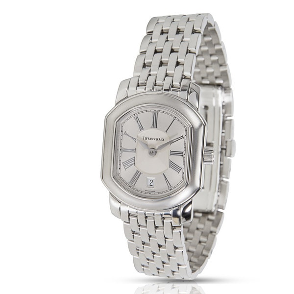 a62fd64e2d Pre-Owned Tiffany & Co. Resonator Ladies Watch in Stainless Steel