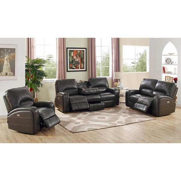 Shop Hydeline By Amax Newcastle Top Grain Leather Power