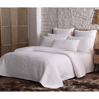 Silver Orchid Chaplin Cotton Quilt Set