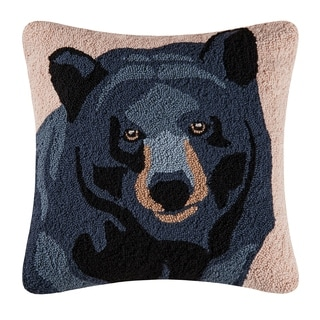 In the Woods Bear Throw Pillow