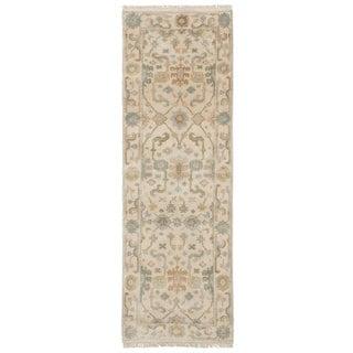 ecarpetgallery Royal Ushak Ivory Wool Rug