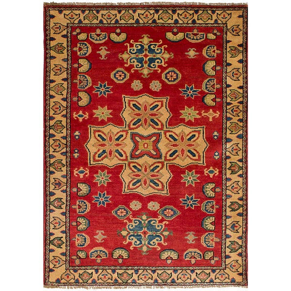 Rustic Rugs Topeka Ks: Shop Ecarpetgallery Finest Gazni Brown Wool Rug