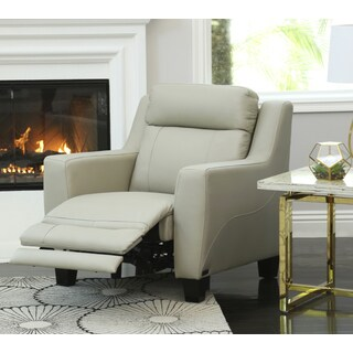 Abbyson Stanford Leather Power Recliner