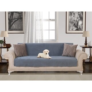 Chiara Rose Anti-slip Armless 1- Piece Sofa Shield Furniture Protector