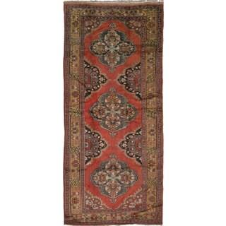 ecarpetgallery Konya Anatolian Brown Wool Rug - 4'10 x 11'2