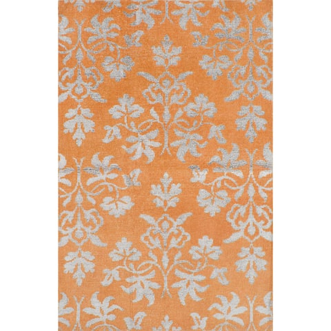ecarpetgallery La Seda Wool Art Silk Rug