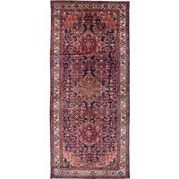 ecarpetgallery Nahavand Blue Wool Rug (5'1 x 11'7)