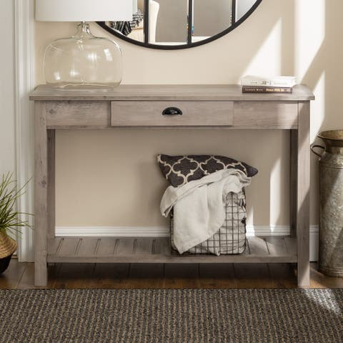 Middlebrook Designs 48-inch Rustic Farmhouse Entry Table