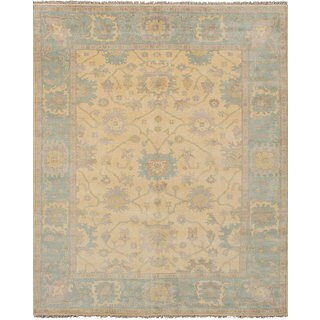 ecarpetgallery Royal Ushak Ivory Wool Rug (8'1 x 10'0)