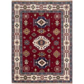 ecarpetgallery Royal Kazak Red Wool Rug (8'6 x 11'4)