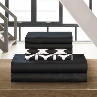 Chic Home Black 6-piece Davitt Sheet Set