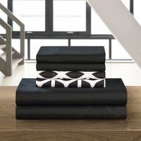 Chic Home Black 6-piece Davitt Sheet Set