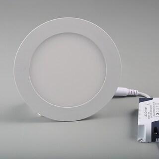 9W LED Round Recessed Ceiling Panel Light 146mm 3200K/4000K/6500K (Warm White)