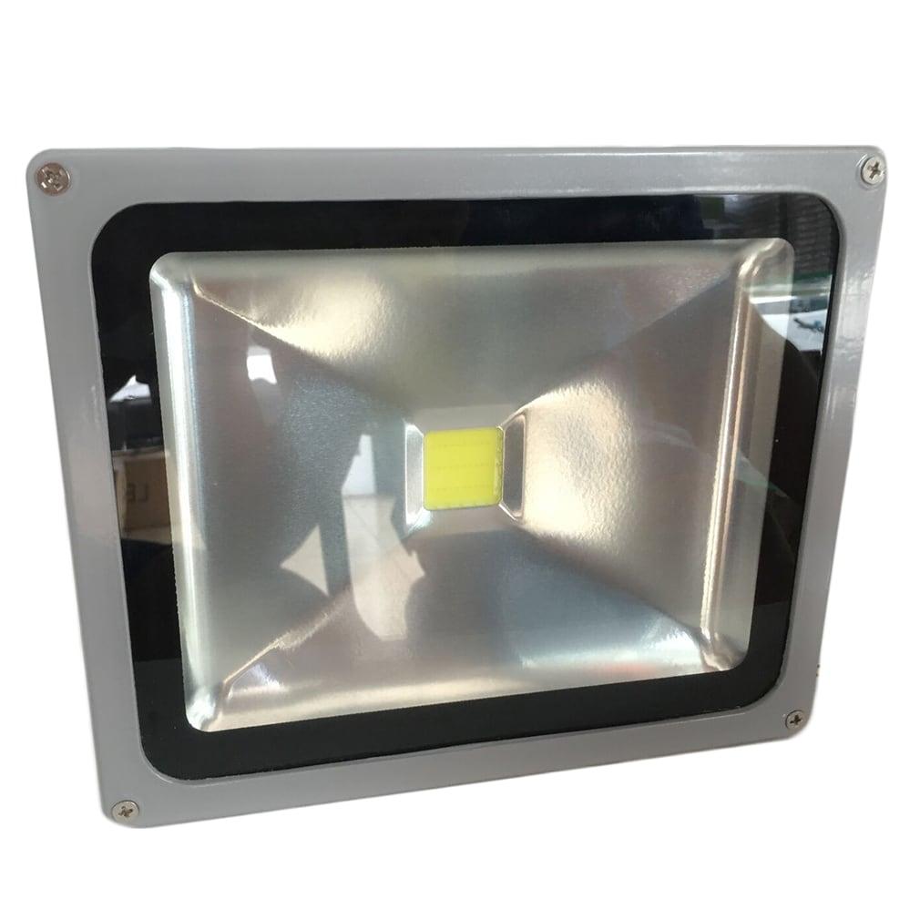 50W LED Flood Light Spot Lamp (Cool White) (Lamp), Silver...