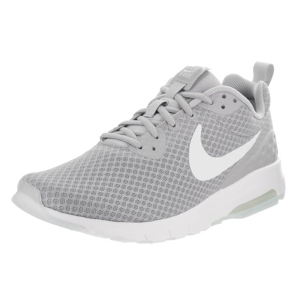 online store ee51a 39333 Nike Men  x27 s Air Max Motion Lw Grey Synthetic Leather Running Shoes