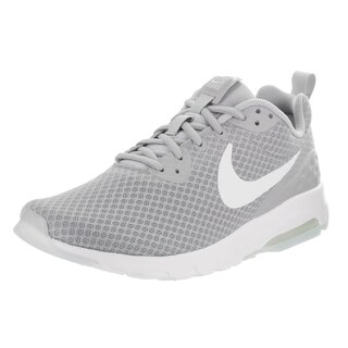 Nike Men's Air Max Motion Lw Grey Synthetic Leather Running Shoes
