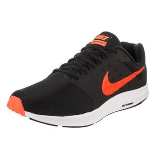 Nike Men's Downshifter 7 Black Textile Running Shoes