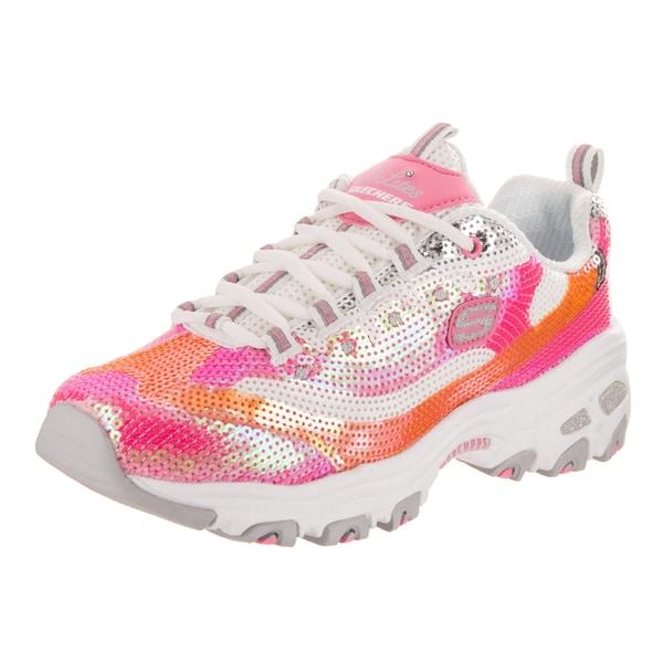 Shop Skechers Women's D'Lites Made To Shine Casual Shoe