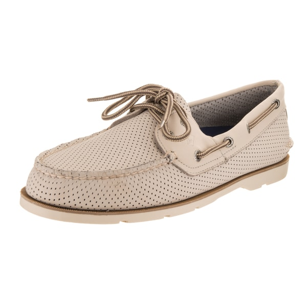 0c8dfd48a267 Shop Sperry Top-Sider Men's Leeward 2-Eye Perforated Boat Shoe ...