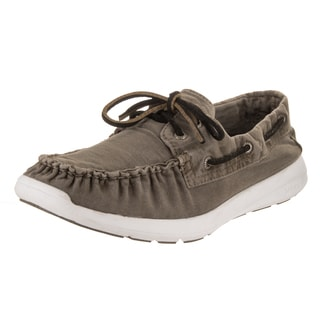 Sperry Top-Sider Men's Sojourn Grey Canvas Boat Shoes