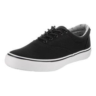 Sperry Top-Sider Men's Striper Black Canvas Casual Shoes