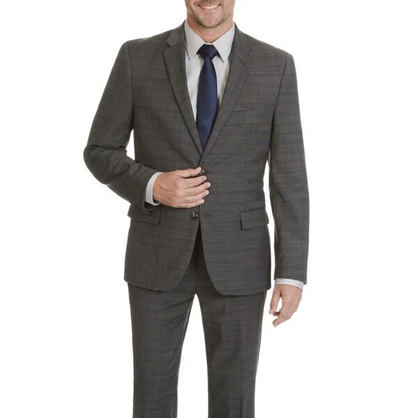 Ben Sherman Men's Plaid 2 Button Suit Separate Jacket