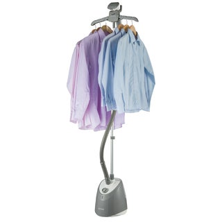 SALAV GS14-DJ Performance Garment Steamer with 360 Swivel Hanger, Dual Insulated Hose, 1500-Watt