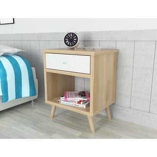Inval Mid-Century Scandia Collection Nightstand