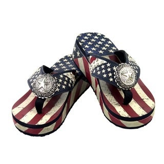 American Pride Collection Flip Flops