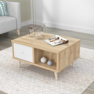Inval Mid-Century Scandia Collection Coffee Table