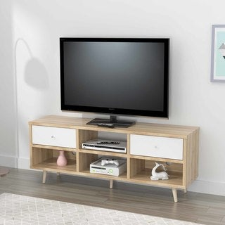 Inval Mid-Century Scandia Collection TV Stand