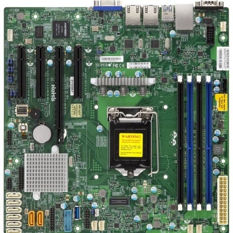 Supermicro X11SSL-F Server Motherboard - Intel Chipset - Socket H4 LGA-1151